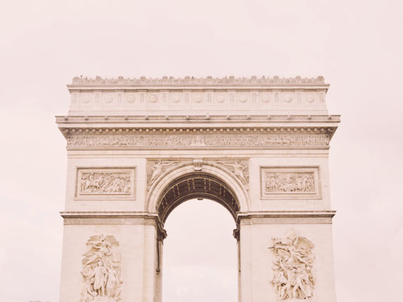 places to visit in paris in 2 days arc de triomphe
