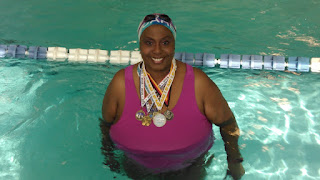 Olivette Oliver, plus size triathlete