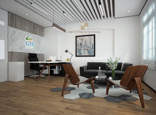 Tiêu chí thiết kế nội thất phòng giám đốc đẹp - H2