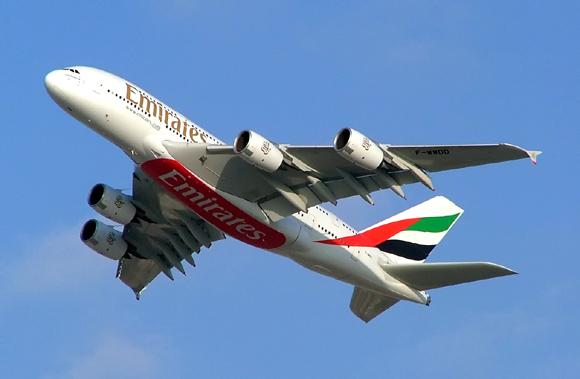 Airbus A380 Emirates KL Dubai