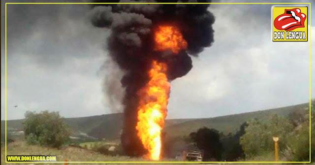 Explosión de una tubería de gas en el barrio Marapa de Catia La Mar dejó varios niños heridos