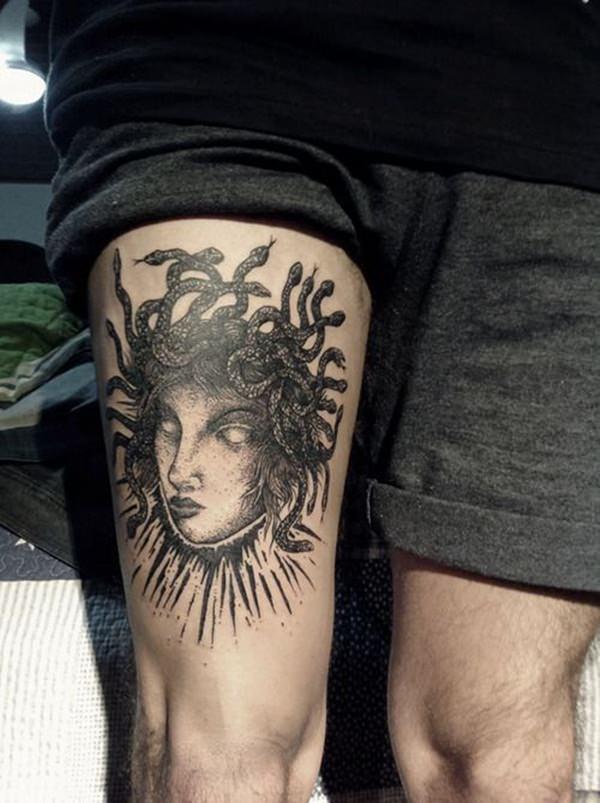 Medusa Tatuagens Que São Assombrosamente Bela Tatuagem