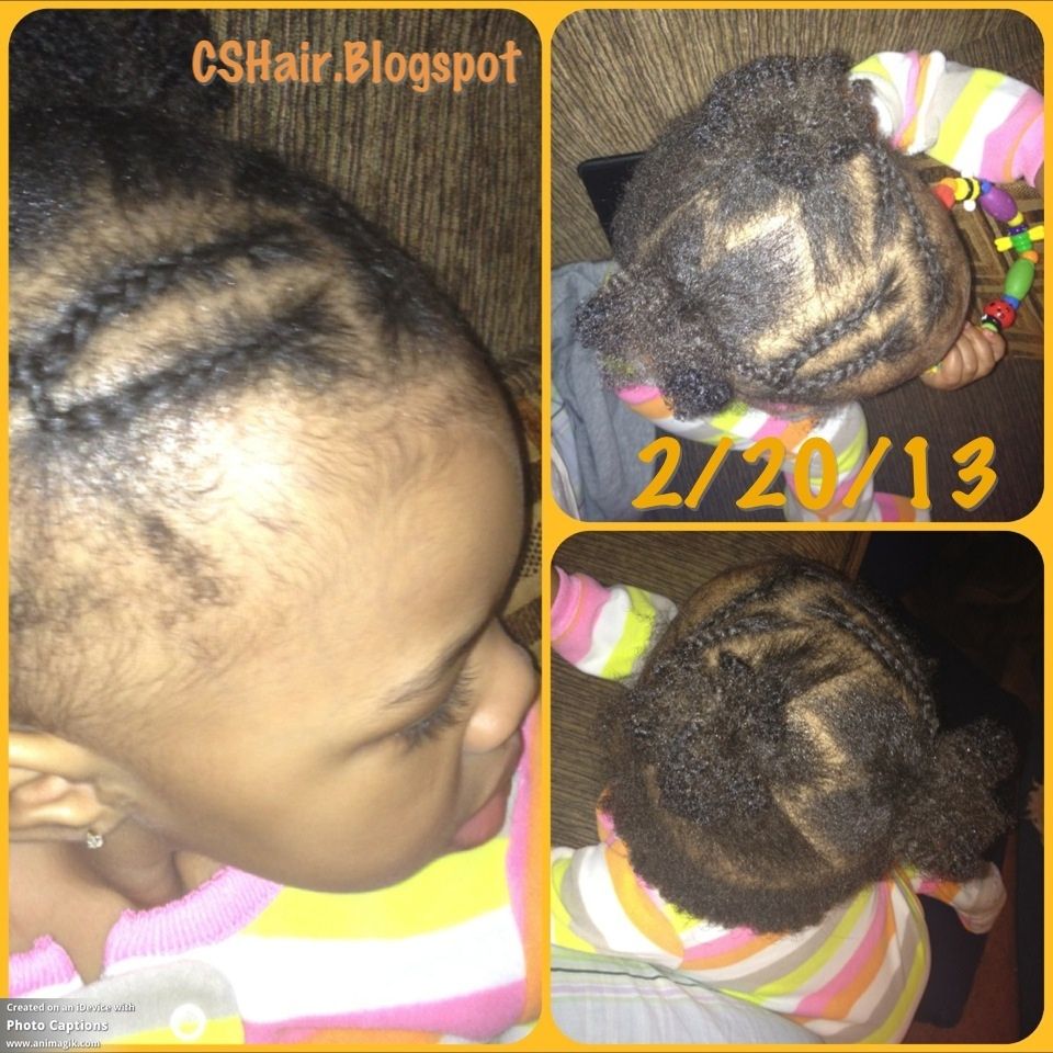 Hairstyle 8 Braided Headband With 2 Puffs Pigtails Toddler