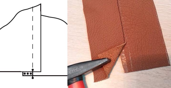 Правила работы с кожей
