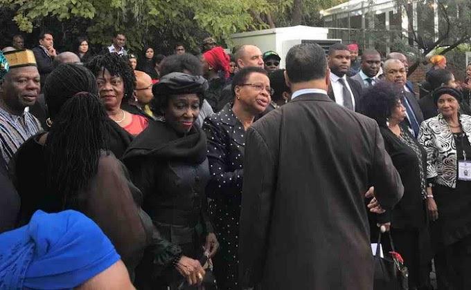 Ghana represented at Winnie Mandela's funeral