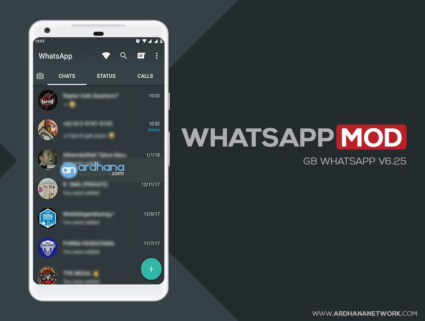 GB Whatsapp V6.25 - Whatsapp MOD