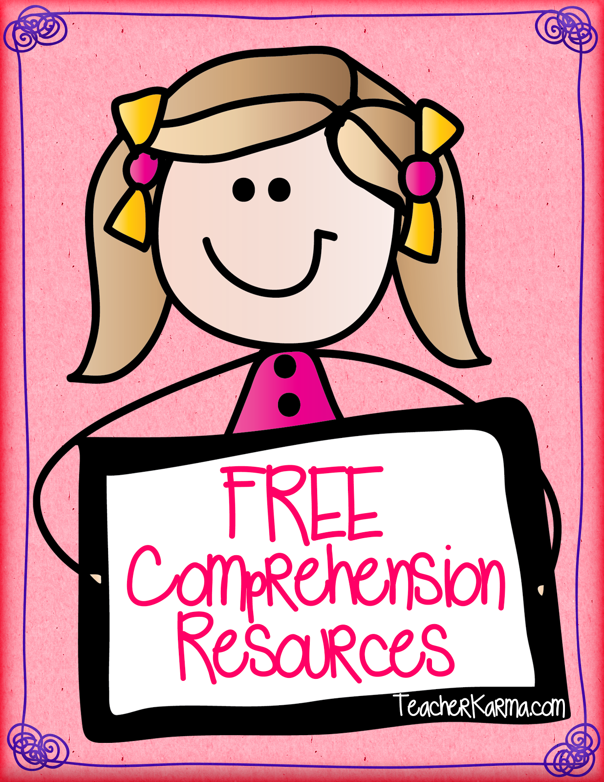 Teacher Karma Teacher Alert 6 Free Reading Comprehension