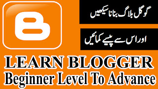 Learn Free Blogger Complete Course Beginners To Advance Level Urdu Hindi