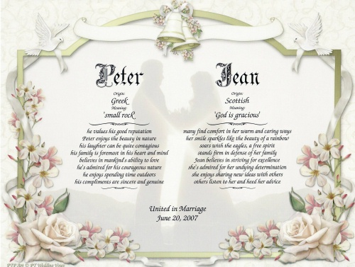 Special Weddings Party Traditional Wedding Vows Traditional Wedding Vows 2010