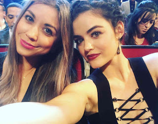 Lucy Hale at People's Choice Awards 2016