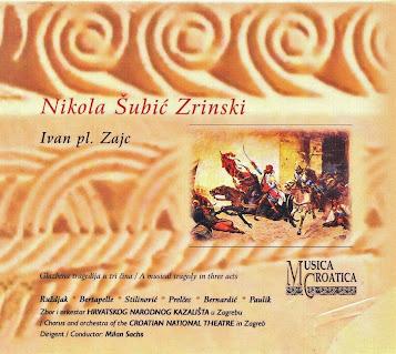 NIKOLA SUBIC ZRINSKI - Ivan Pl. Zajc