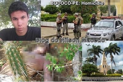 BODOCÓ-PE: Jovem de 16 anos é encontrado morto vítima de assassinato