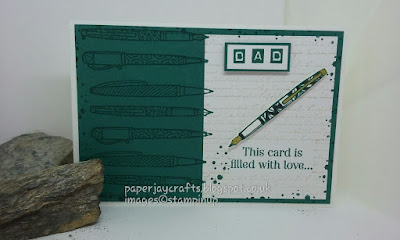 Stampin Up Crafting Forever, Tranquil Tide Paperjay Crafts