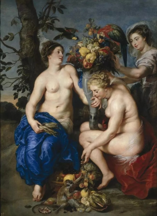 Rubens: Nymphs