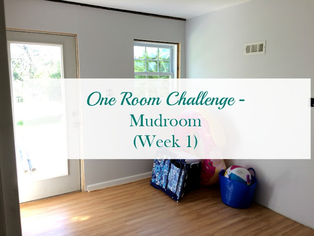 Follow along with me on the One Room Challenge as I transform my mudroom space in 6 weeks.