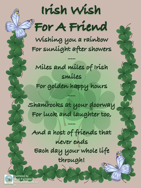 Irish Blessings Birthday Blessing Wishes Wedding Traditional Old Quotes