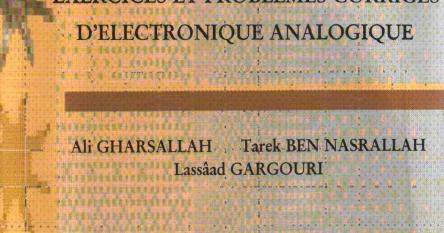 Electronahal Livre Exercices Et Problemes Corriges D