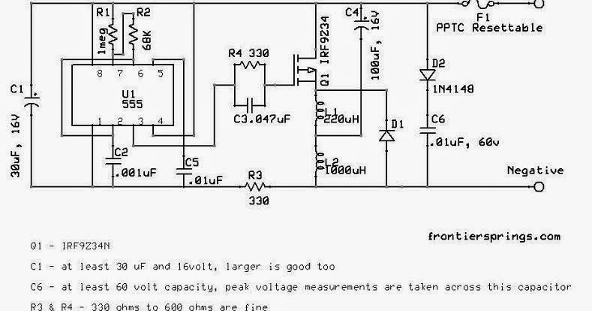 Battery Desulfator Circuit Explained ~ Diagram circuit