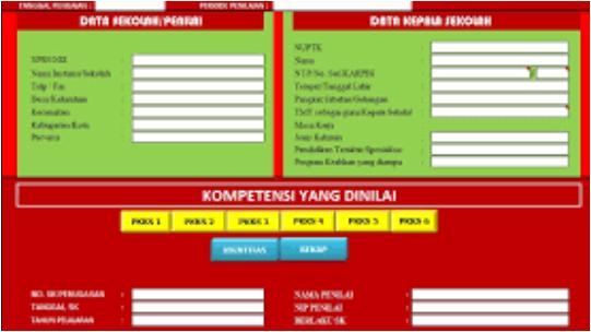 Aplikasi PKKS SD SMP SMA Format Excel Lengkap dengan Kuesioner tahun 2018