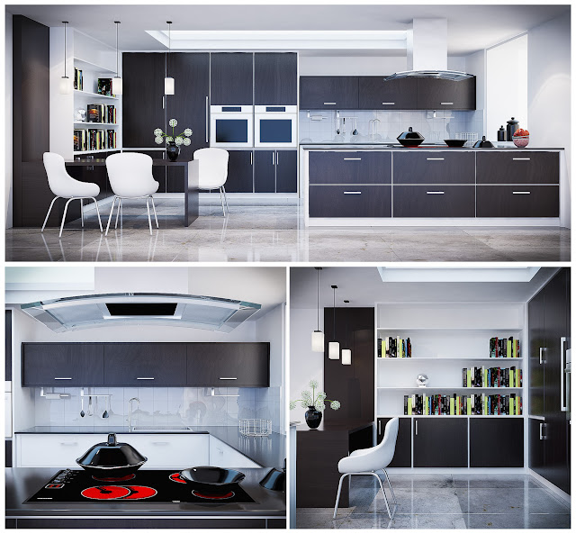[3dmodelfree] Kitchen Cabinets pro