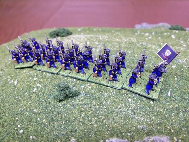 Painted 10mm Perrin Iron Brigade Civil War Infantry