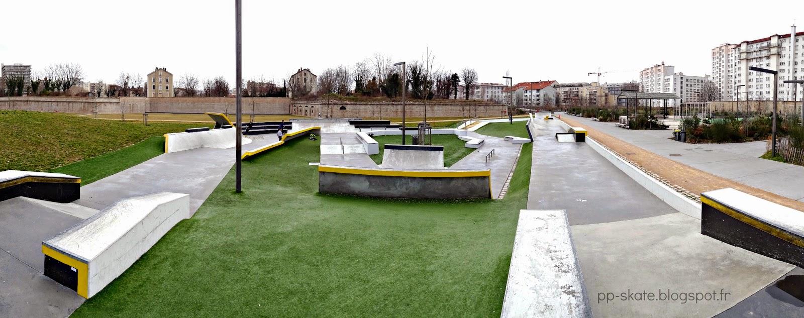 Nouveau skatepark Lyon