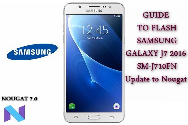 Samsung SM-J710FN Clone Flash File Download