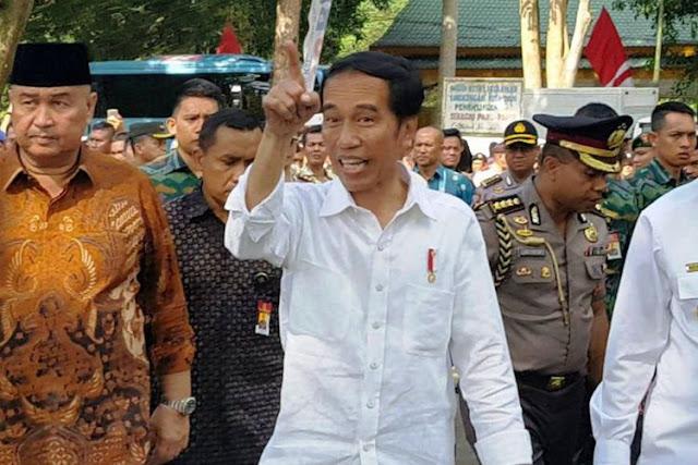 "Jokowi: Tadi yang Salami Saya Bilang, ""Pak Saya Siregar, Pak Saya Nasution"""