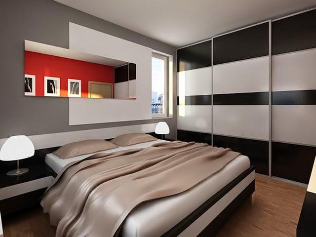 Fotos de dormitorios modernos y elegantes colores en casa for Habitacion matrimonial moderna