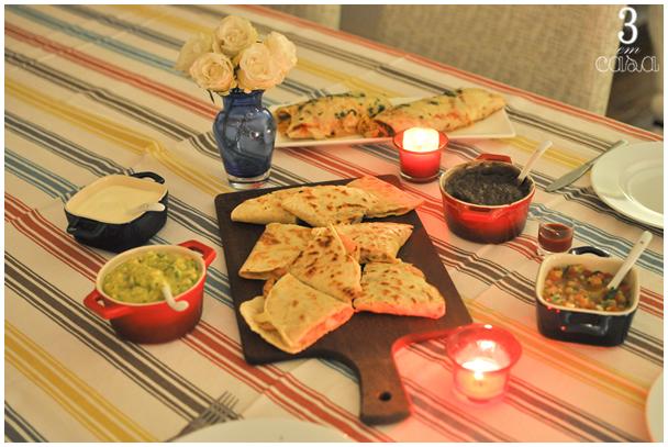 noite comida mexicana
