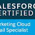 Passed Salesforce Marketing Cloud Email Specialist!