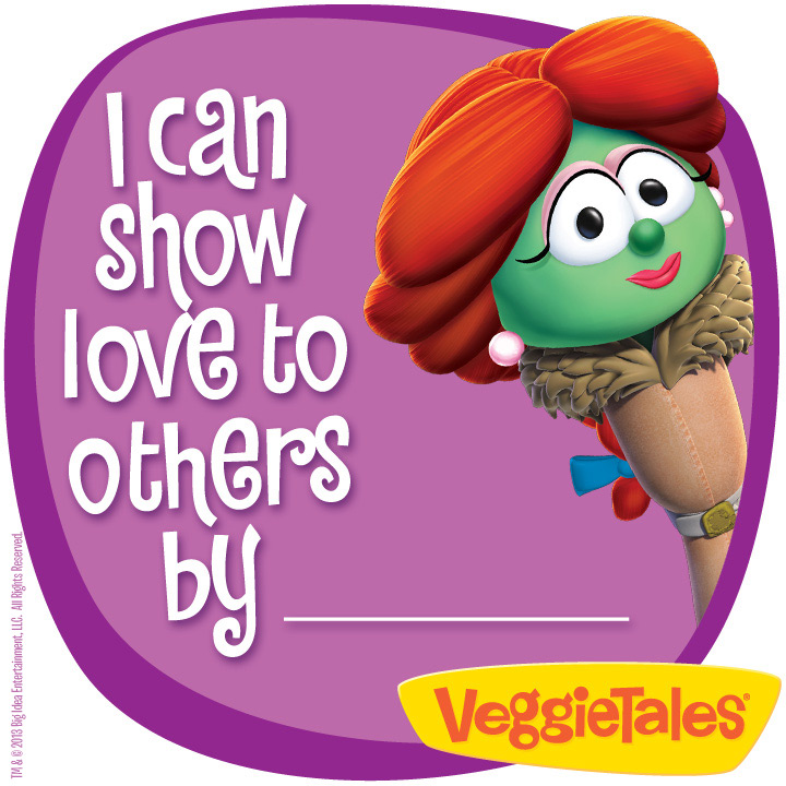 Lettuce Love One Another- The Newest DVD From VeggieTales