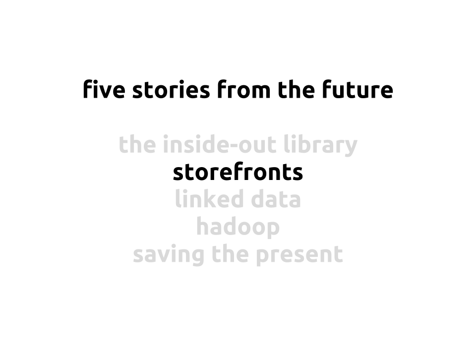 New Jack Librarian: The future of libraries is...