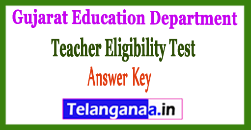 Gujarat TET Teacher Eligibility Test Paper 2 Solution OMR Answer Key 2018 Result