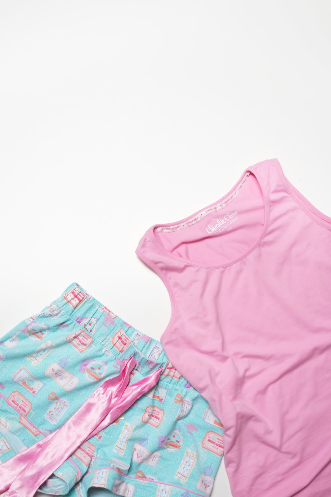 Charlie choe, pyjama, sleepwear, candy colors, mini-me, pj's, pajamas
