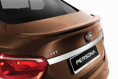 New 2016 Proton Persona  back look image