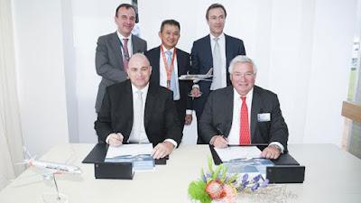Jetstar Pacifc ký hợp đồng mua 10 máy bay Airbus A320 CEO Sharklet.