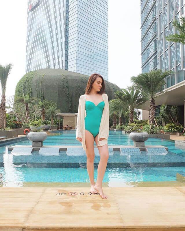 25 foto seksi shandy aulia terbaru hot bikini netizen nyinyir