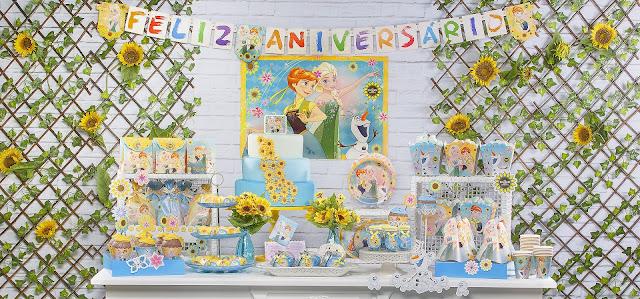 Tema Festa Infantil Frozen