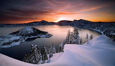 Kumpulan Informasi danau unik dan menarik di dunia, Danau Carter Oregon