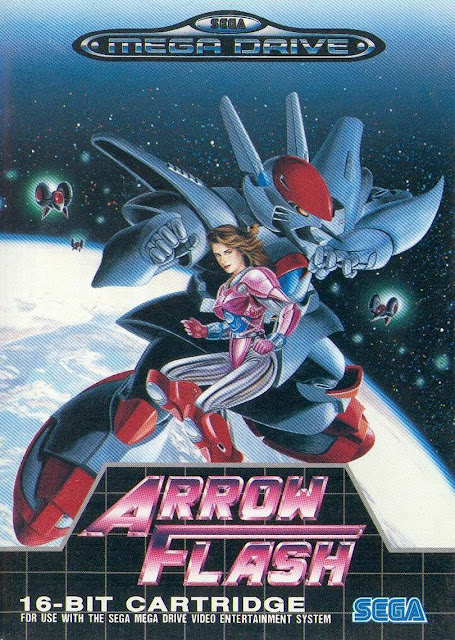 Arrow Flash box art Sega