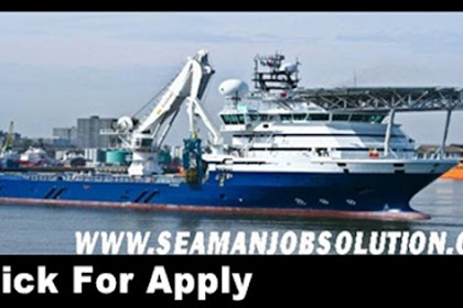Chief officer jobs for offshore utility vessel