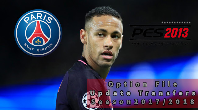 OPTION FILE TRANSFER PES 2013 LENGKAP