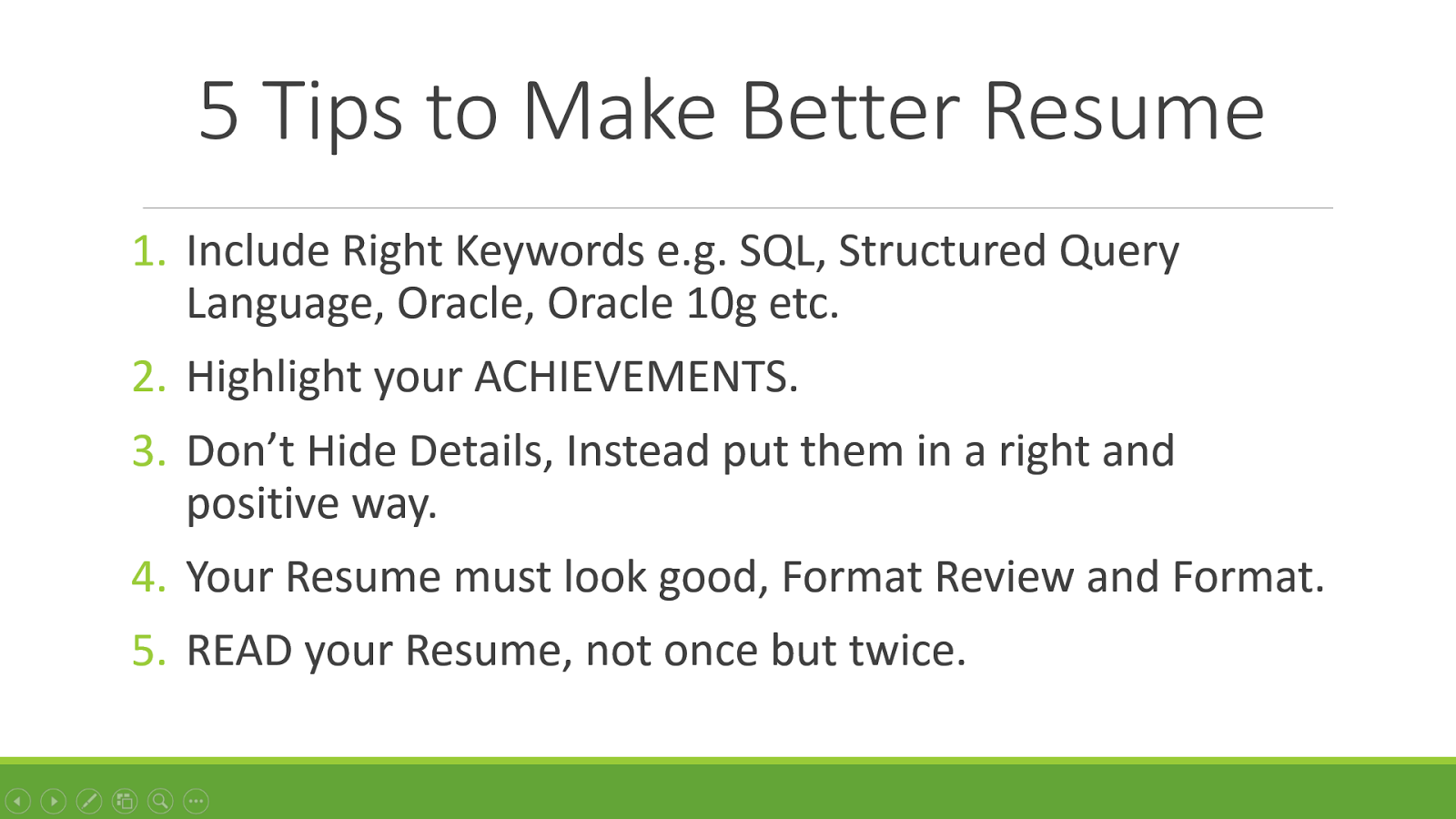 5 Tips To Make Better Resume Programmers  How To Make Your Resume Look Good