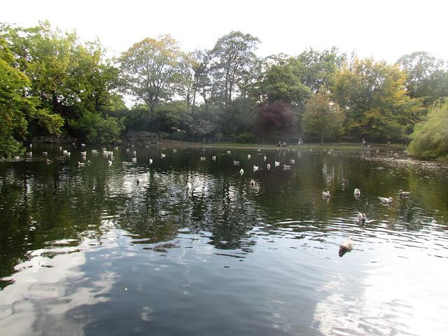 Parque St. Stephen's Green.