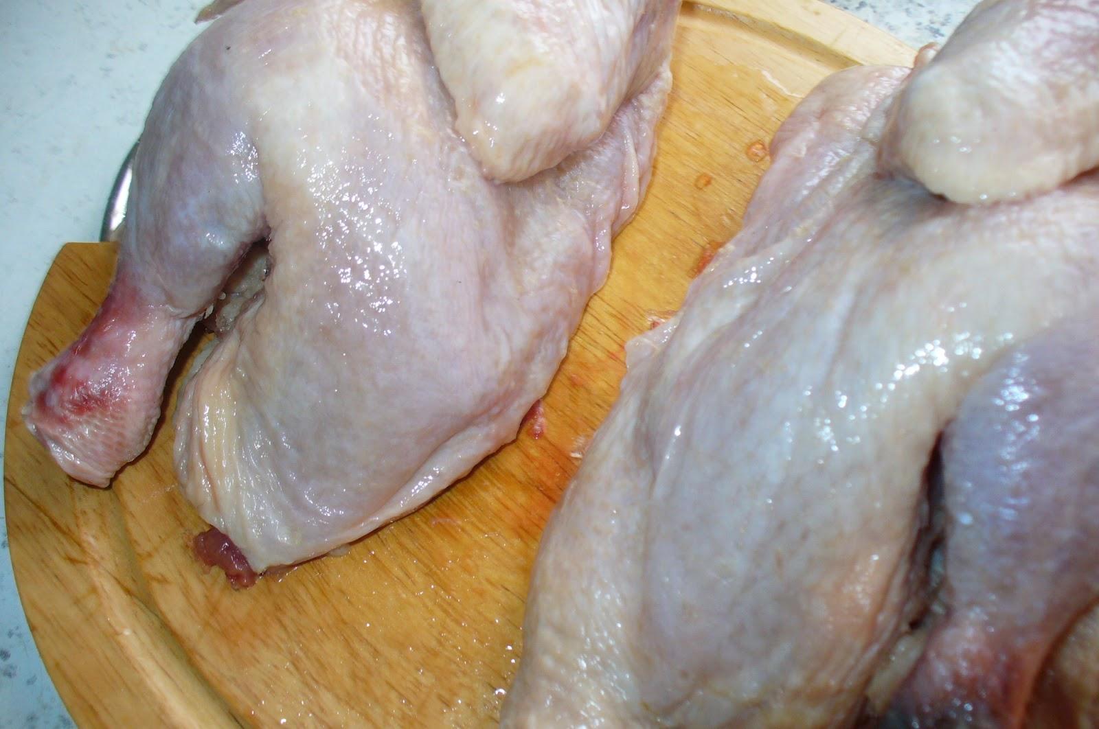 как разделать тушку курицы