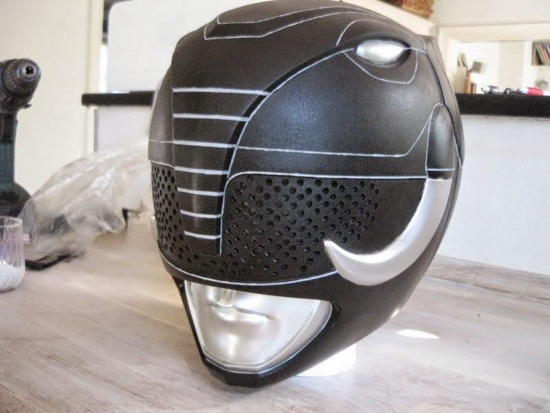 Black Power Ranger Helmet