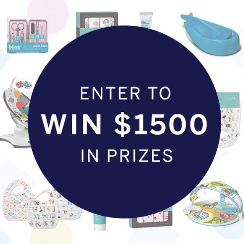 To celebrate Nanit's big debut, they're throwing a baby shower sweepstakes where you can enter to win over $1500 worth of goodies from their favorite mom and baby brands!