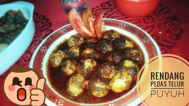 Resep rendang telur puyuh ala rumah makan ciwidey