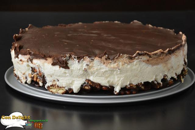 no bake mousse cake עוגת מוס ללא אפייה